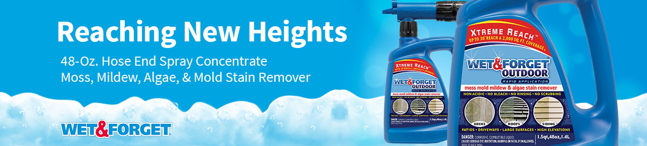 Wet & Forget Outdoor Cleaner