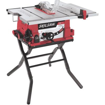 SKILSAW 15-Amp 10 In. Table Saw with Folding Stand