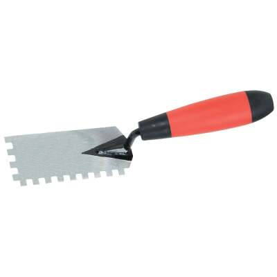Do it Best 1/4 In. Square Margin Notched Trowel