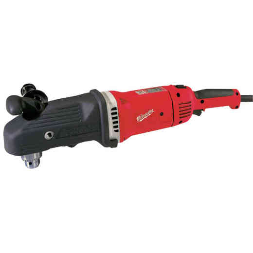Milwaukee Super Hawg 1/2 In. 13-Amp Keyed Electric Angle Drill