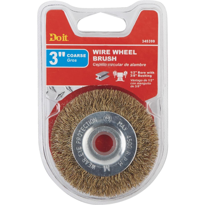Do it 3 In. Coarse Bench Grinder Wire Wheel Image 2
