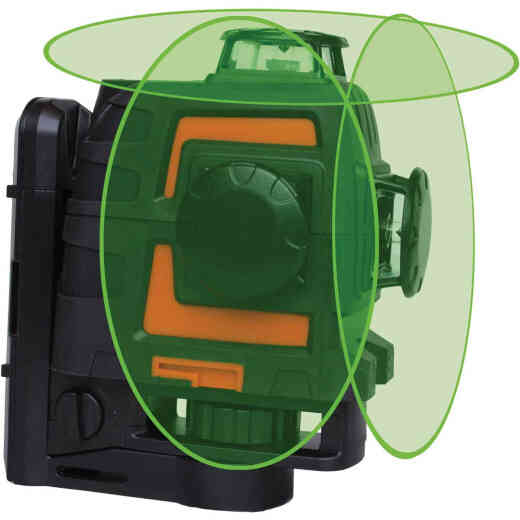 Johnson Level Self-Leveling 3x360 Laser with GreenBrite Technology