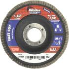 Weiler Vortec 4-1/2 In. x 7/8 In. 60-Grit Type 29 Angle Grinder Flap Disc Image 1