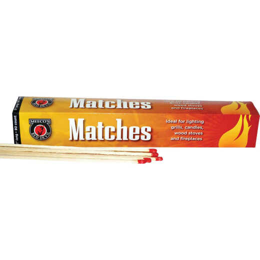 Meeco's Red Devil 11 In. 90-Count Safety Matches