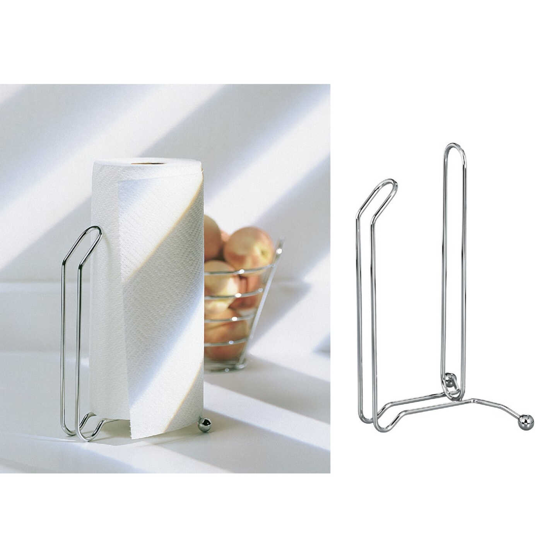 InterDesign Aria Paper Towel Holder Stand Image 1