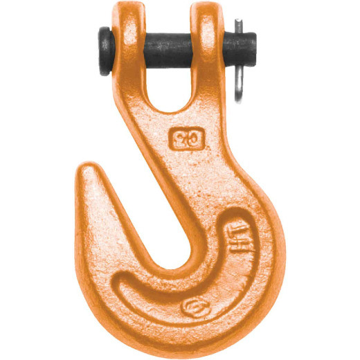 Campbell 1/2 In. Grade 80 Clevis Grab Hook