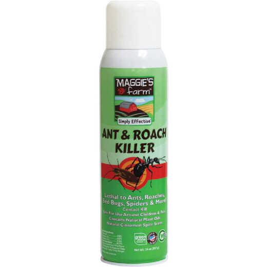 Maggie's Farm 14 Oz. Aerosol Spray Ant & Roach Killer