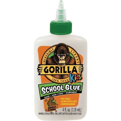 Gorilla 4 Oz. White Drying School Glue